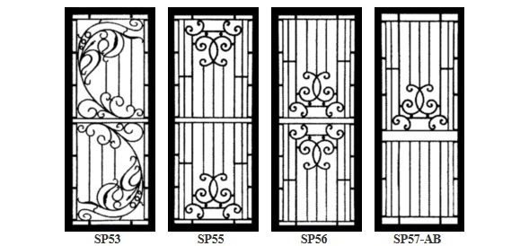 Colonial Amp Federation Grille Styles Security Doors