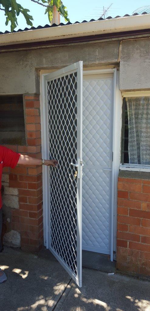 security door screen demo