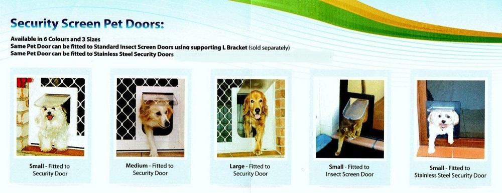 Pet Doors Security Screens Instant Security Doors Screens