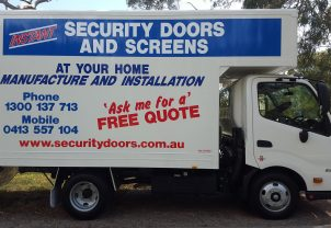 Security Door Truck Adelaide