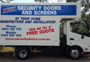Security Door Truck